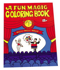 Morris Costumes LA-43 Coloring Book Fun Magic