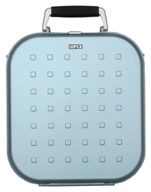 Hipce CDH-120 Portable CD Briefcase - Plastic with Metallic Finish