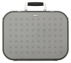 Hipce CDH-180 Portable CD Briefcase - Plastic with Metallic Finish