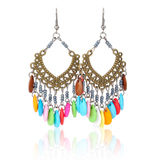 Aspire Colorful Bead Chandelier Drop Earrings, Graduation Gift