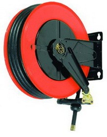 National Spencer Open-Type Air Reel W/ 49' Hose