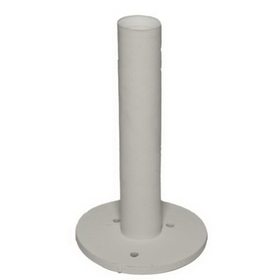 PAS 3 1/4&quot; Dura Rubber Tee, White, Price/Each