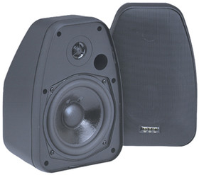 BIC AMERICA ADATTO DV52SI Adatto Indoor/Outdoor Speakers (Black)