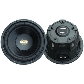 LANZAR MAXP124D Max Pro Small 4&#937; Enclosure Dual Subwoofer (12&quot;; 1,600W)
