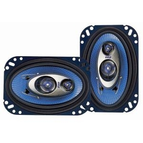 "PYLE PL463BL Blue Label 2, 3 & 4-Way Speakers (4"" x 6""; triaxial)"