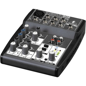 Behringer XENYX 502 Mixer 5-Input 2-Bus