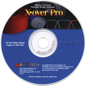 X-Over 3 Pro Software CD-ROM