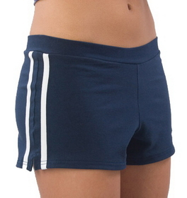 Pizzazz Spirit Stripe Short, Adult
