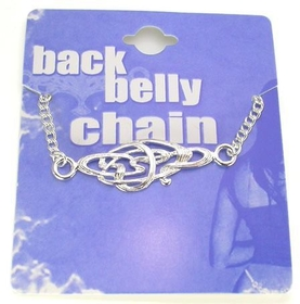 Back Belly Chain Kaos Design