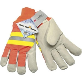 Luminator Grain Pigskin Drivers w/ThermoSock , Large