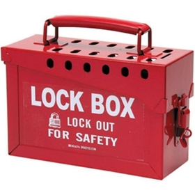 Group Lock Box, Red