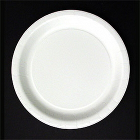 "7"" WHITE PLASTIC PLATE (20 CT.)"