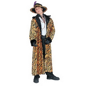 PIMP COAT TIGER STYLE (ADULT)