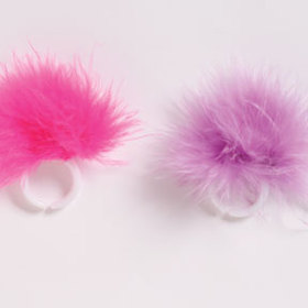 GIRL TIME MISC. RINGS MARABOU