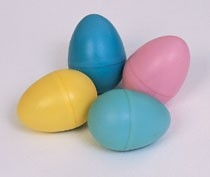 RB210 Multi Color Egg Shaker