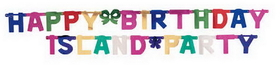 Creative Converting 29504 Jointed Banner Lg, Hpy B'Day, Multi (12pks Case)
