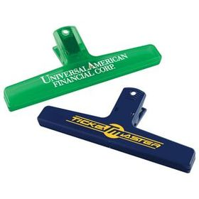 "Evans 6"" W X 2 1/2"" H X 1 1/8"" D Keep-It Clip, Screen Printed, Price/piece"