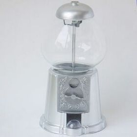 "11"" Gumball Machine W/ Chrome Accent, Price/piece"