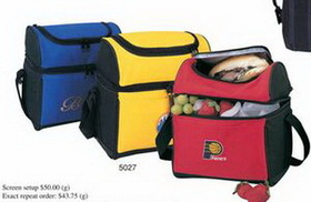 "Round Top Lunch Pack Cooler (9""x10""x6-1/4""), Price/piece"