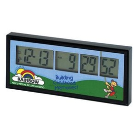 Ultimate Atomic Countdown Clock with 4 Color Process, Price/piece