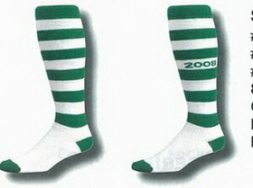 Striped Softball Socks w/ Cushioned Foot/ Lightweight Top 10-13 Large, Price/2pcs
