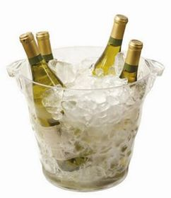 Monterey Quattro Acrylic Wine Cooler (Laser Engraved), Price/piece