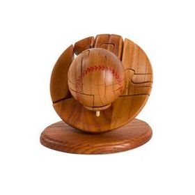 Unique Mahogany Base Ball Puzzle (Screened), Price/piece