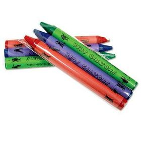 3 Pack Cello Wrapped Crayons, Price/1000pcs
