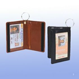 Double Id Holder w/Key Ring / Screen Print, Price/piece
