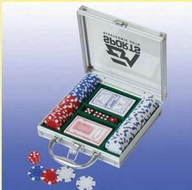 100 Piece Casino Style Poker Set (Screened), Price/piece