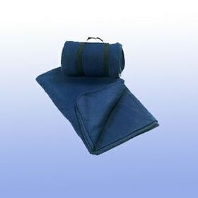 100% Polyester Polar Fleece Blanket (Engraved), Price/piece
