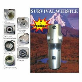 Survival Whistle W/Compass (Screen), Price/piece