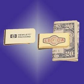 Gold Plated Money Clip, Price/piece