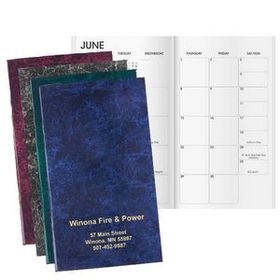 Windmill Marble Work Monthly Planner, 3 1/2&quot; W X 6&quot; H, Price/piece