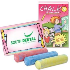 3 Pack Jumbo Sidewalk Chalk, Price/piece