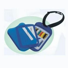 Luggage Tag w/Sewing Kit, Price/piece