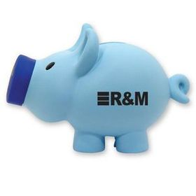Jumbo Blue Piggy Bank, Price/piece