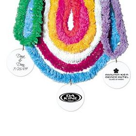 Plastic Leis w/ Medallions, Price/piece