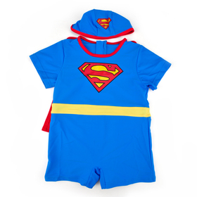 Toddler Boys' Swimsuit /Bath Suit / Costume, Superman Design, One-Piece Swimwear