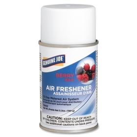 Genuine Joe Metered Air Freshener, Aerosol - Berry - 30 Day, Price/EA