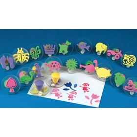 Foam Squishers Foam Stamps (set/20), Price/per set