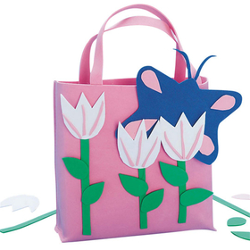 Pink Tulips Tote Bag&#169; (pk/12), Price/per pack