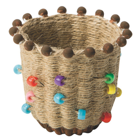 Ancient Culture Jute Basket (pk/24), Price/per pack