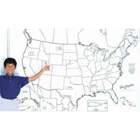 United States Map Learning Wall, Price/each