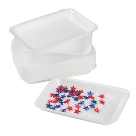 "Foam Tray, 5-3/4x8-1/4"" (pk/12), Price/per pack"