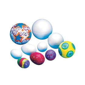 Styro foam Ball 2-1/2&quot; (pk/12), Price/per pack
