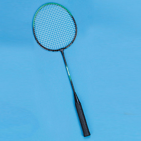 Steel Shaft Nylon String Badminton Racquet, Price/each