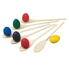 Spectrum Eggs and Spoons (set/6), Price/per pack