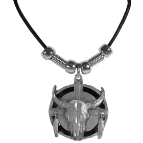 Siskiyou PT7S Earth Spirit Necklace - Buffalo & Shield