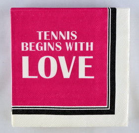 Tennis Napkins 